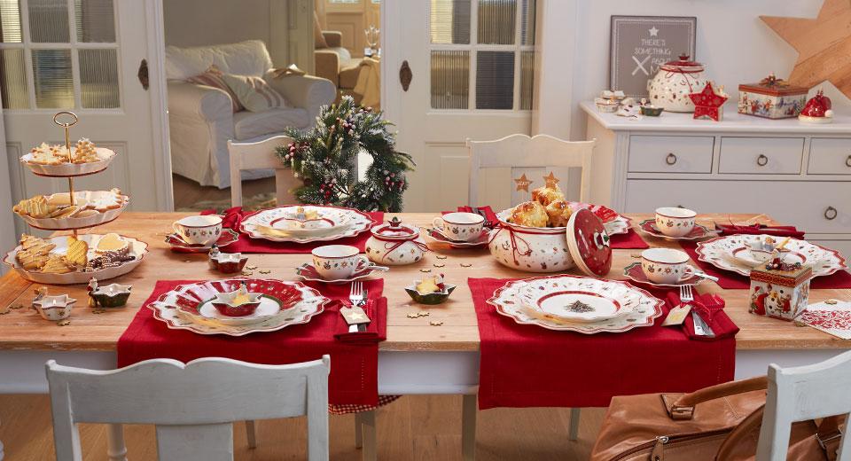 Villeroy und boch geschirr weihnachten 2014