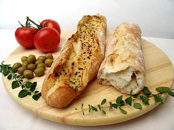 Verschiedenste Baguettes für Grillen und mehr