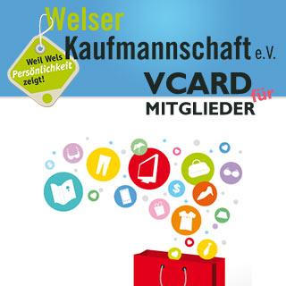 Logo Welser Kaufmannschaft stellt Mitgliedern gratis Web-Visitenkarte zur Verfügung